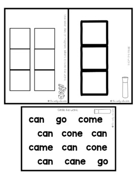 Sight Word Practice Made Easy (and FUN!) - CAN