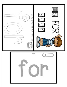 Sight Word Practice Made Easy (and FUN!)  - FOR