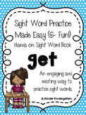 Sight Word Practice Made Easy (and FUN!)  - GET