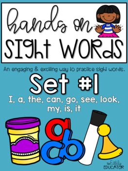 Sight Word Practice Made Easy (and FUN!) BUNDLE 1