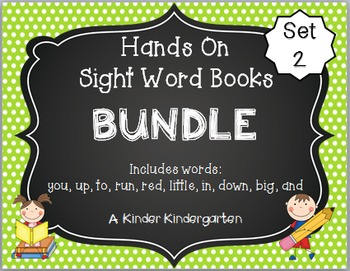 Sight Word Practice Made Easy (and FUN!) BUNDLE 2