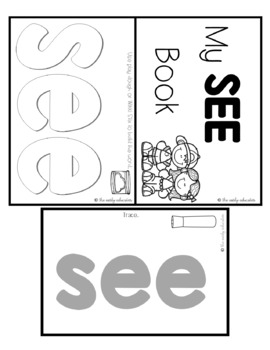 Sight Word Practice Made Easy (and FUN!) - SEE