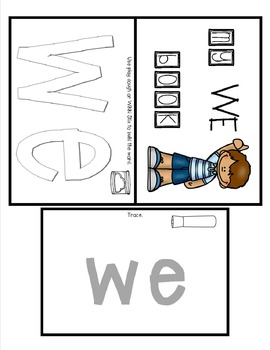 Sight Word Practice Made Easy (and FUN!)  - WE