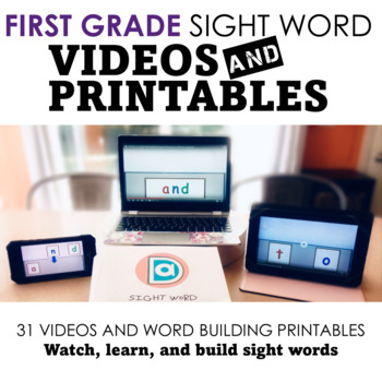 Sight Word Fluency Practice Pack | First Grade | Multimodal Word Activities