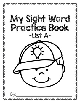 Sight Word Practice Pack: Fry's First 100, List A