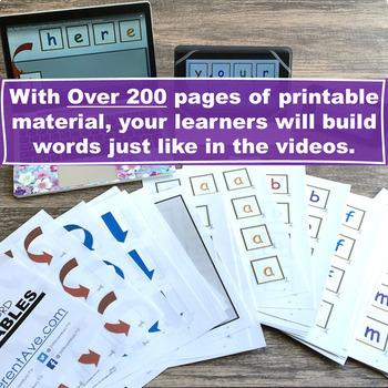 Sight Word Fluency Practice Pack | Third Grade | Multimodal Word Activities