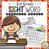 Third Grade List Sight Word Practice Packet
