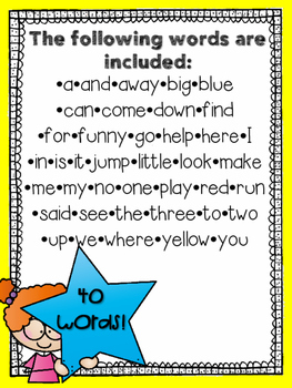 Sight Word Practice Packet- PRIMER-NO PREP!