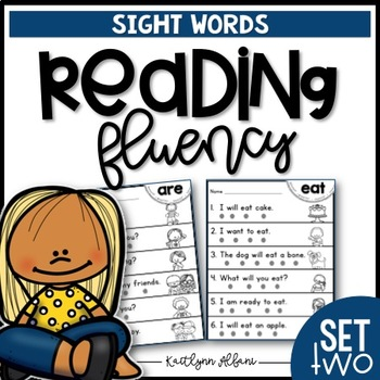 Sight Word Practice Pages - Fluency - Part 2