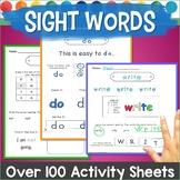 Sight Word Practice Activities
