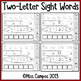 Sight Word Practice Pages : (Set Two)