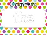 Sight Word Practice Playdough Mats-- Editable!