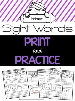 Sight Word Practice {Primer Dolch Words}