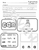 Sight Word Practice Printables Fountas and Pinnell BUNDLE