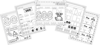 Sight Word Practice - See