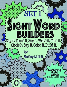 Sight Word Builders Practice