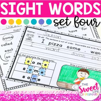 Sight Word Practice Part 4