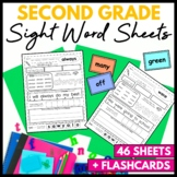 Sight Word Worksheets Second Grade