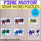 Sight Word Practice -  Sight Word Puzzle Activities