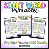 Sight Word Practice, Sight Words