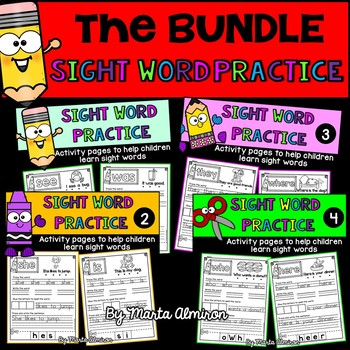 Sight Word Practice - THE BUNDLE