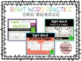 Sight Word Practice- THE BUNDLE
