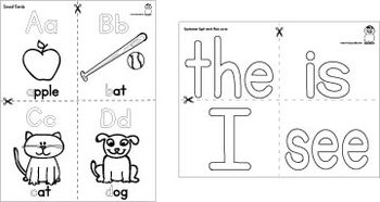 Sight Word Practice - The, Is, I, See