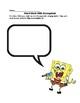 Sight Word Practice With Spongebob