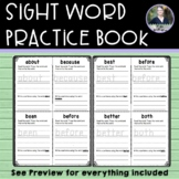 Sight Word Practice Workbook - Spelling and Sentence Writing