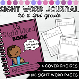 Sight Word Practice Writing Journal for First and Second Grade