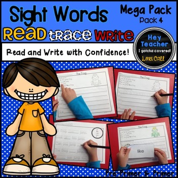 Sight Word Activities #4 (Mega Pack)
