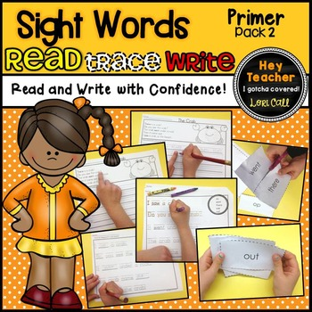 Sight Word Activities Pack #2