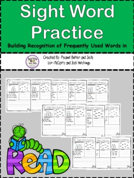 Sight Word Worksheets - homework helpers - high frequency words
