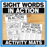 Sight Word Practice in Action with Editable Word Lists Distance Learning