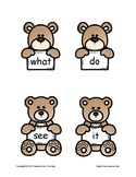 Sight Word Practice with Brown Bear, Brown Bear