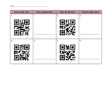 Sight Word Practice with QR Codes