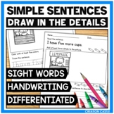 Sight Word Practice with Simple Sentences - Volume 2