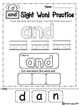 Sight Word Practice ( Pre-Primer )