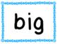 Sight Word, Pre-Primer Bundle