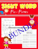 Sight Word Pre-Primer - Bundle