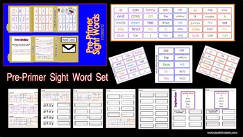 Sight Word-Pre-Primer Set