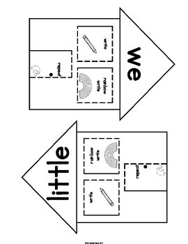 Sight Words Pre-Primer Set 4 (is, go, we, little)