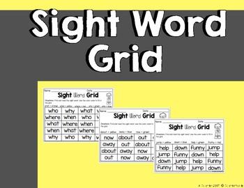 Sight Word Printable