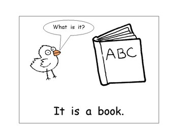 """Sight Word Printable Book  -  """"What Is It?"""" - it, is, a"""