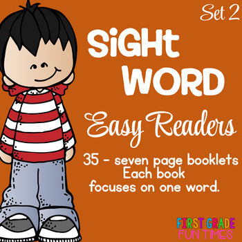 Sight Words Easy Readers