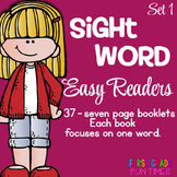 Sight Words Readers One Focus Word
