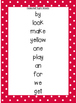 Sight Word Printable Set #3 and Emergent Reader Books