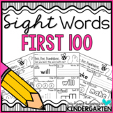 Sight Word Worksheets {First 100 Edition}