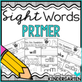 Sight Word Worksheets {Primer Edition}