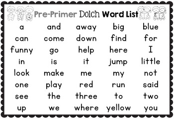 Sight Word Printables: Roll, Read, Trace and Color Thanksgiving Pre-Primer